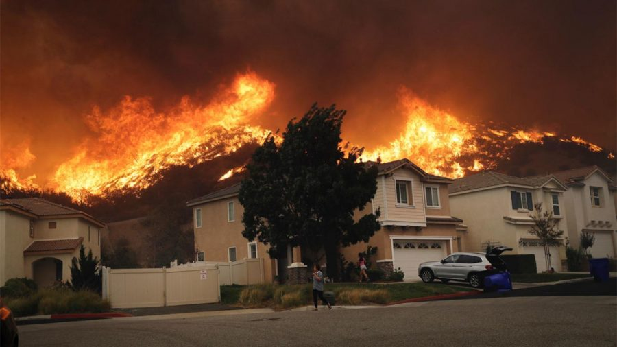 Record breaking fires threaten citizen's homes and bring destruction through California.