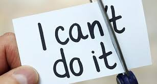 "Stay motivated and stay positive by saying ""I can do it."""