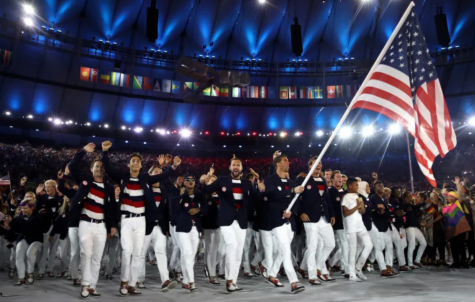 Team USA at the 2016 Olympics in Rio. Due to COVID-19, the 2020 Olympics have been postponed.