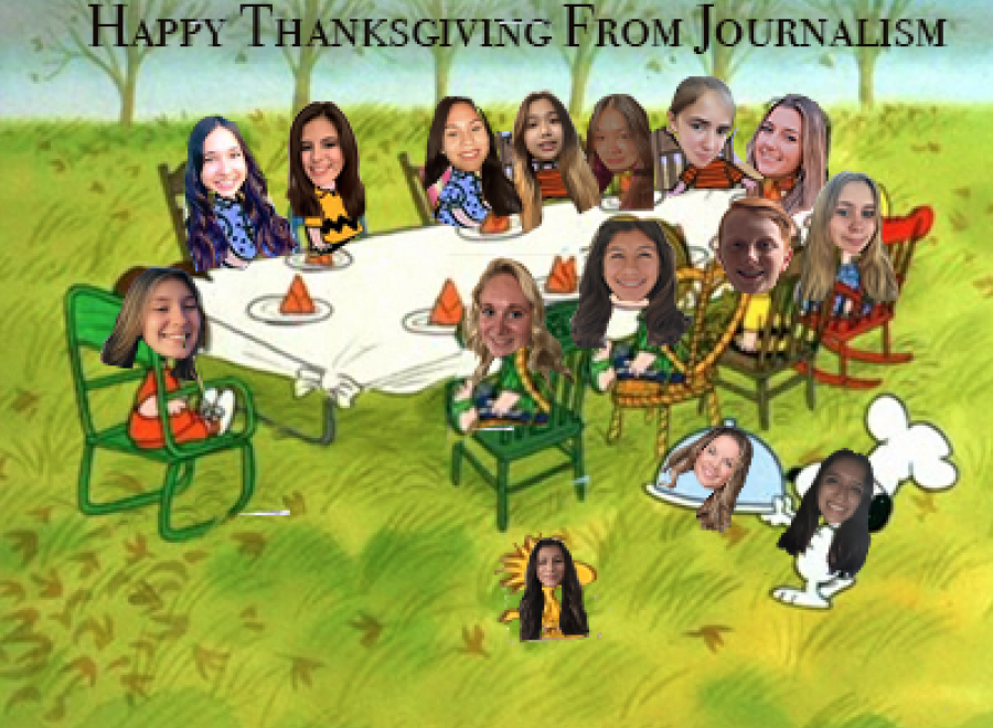 Happy Thanksgiving, From Journalism!