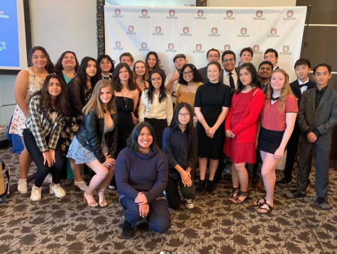 Saugus Academic Decathlon Banquet in 2020