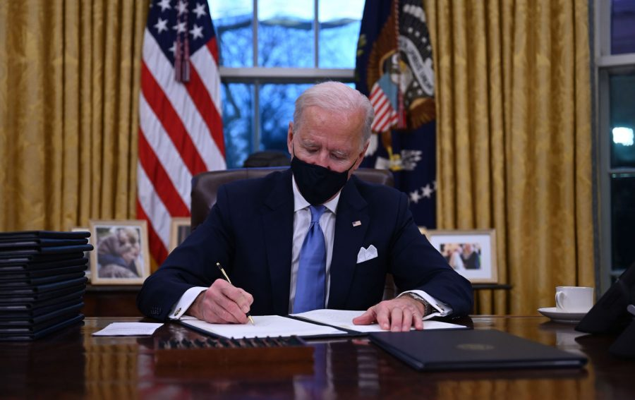 The Biden Administration has begun it's first 24 hours with a flurry of executive orders and actions.