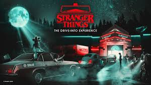 Courtesy of Stranger Things Drive Into Website
