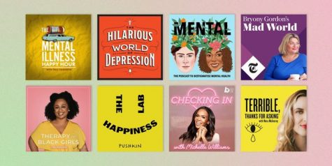 There are a variety of mental health podcasts for listeners seeking relaxation