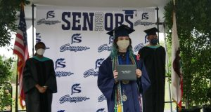 Drive-by graduation ceremony for Saugus High School class of 2020