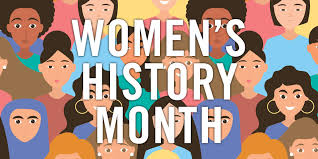 March marks the beginning of the month long celebration of Women's History Month, which is meant to celebrate the achievements made by women throughout history.