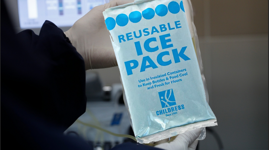 The standard reusable ice pack has been credited to cure the COVID-19 pandemic by school nurses.