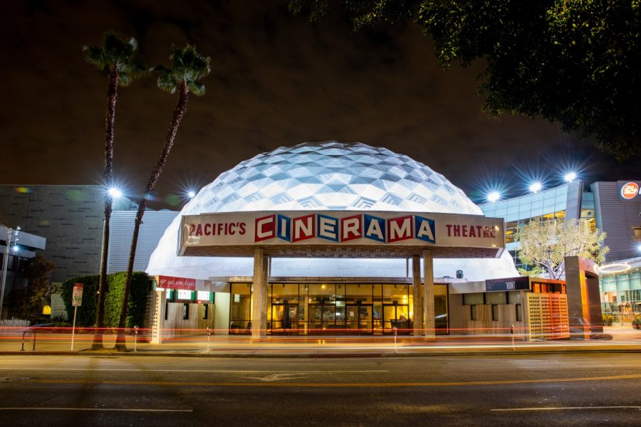 Iconic dome of Arclight cinemas