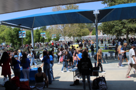 Students return to campus after distance learning!
